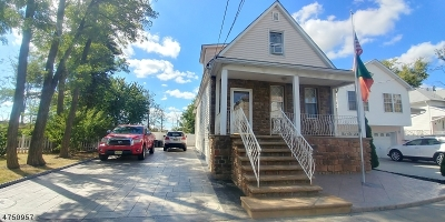 Linden City NJ Single Family Home For Sale: $269,900