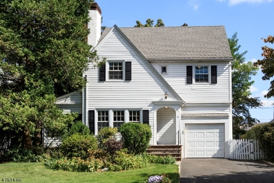 Millburn Twp. Single Family Home For Sale: 16 Campbell Rd
