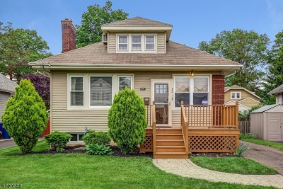 Fanwood Boro Single Family Home For Sale: 22 Stewart Pl