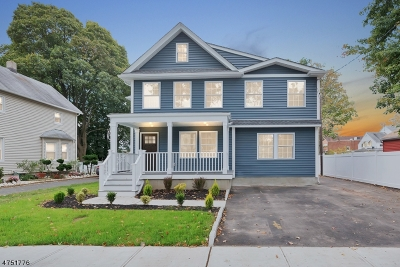 Scotch Plains Twp. Single Family Home For Sale: 412 Forest Rd