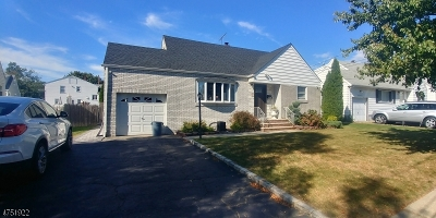 Union Twp. NJ Single Family Home For Sale: $359,900