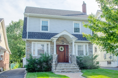 Maplewood Twp. Single Family Home For Sale: 106 Midland Blvd