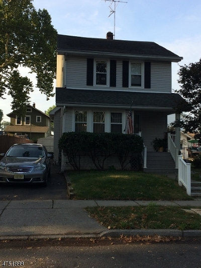 Nutley Twp. Single Family Home Active Under Contract: 163 Oak Ridge Ave