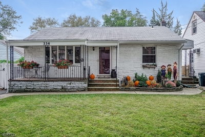 Scotch Plains Twp. Single Family Home For Sale: 334 Willow Ave