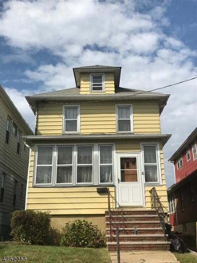 ELIZABETH Single Family Home For Sale: 936 Adams Ave