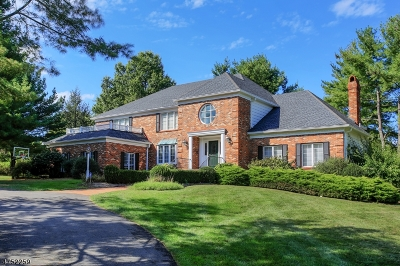 Bernardsville Boro Single Family Home For Sale: 52 Beverly Dr