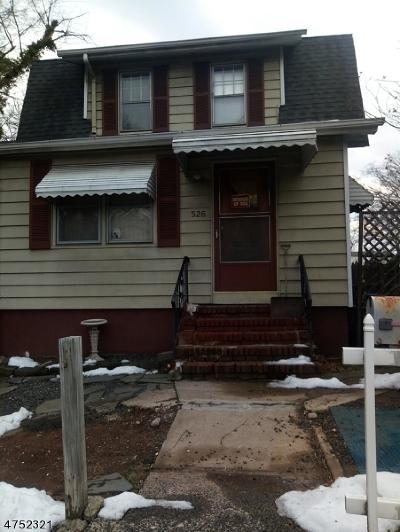 HILLSIDE Single Family Home For Sale: 526 Us-22
