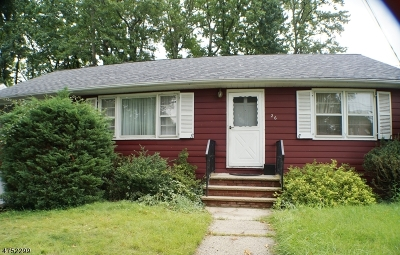 Fanwood Boro Single Family Home For Sale: 26 Kempshall Ter