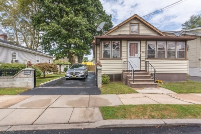 HILLSIDE Single Family Home For Sale: 369 Yale Ave
