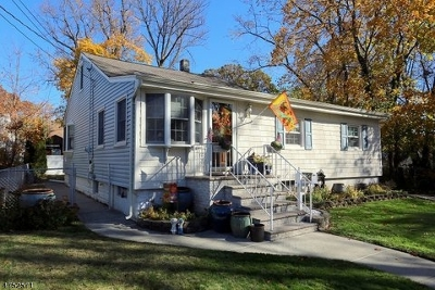 Cranford Twp. Single Family Home For Sale: 4 Rose St
