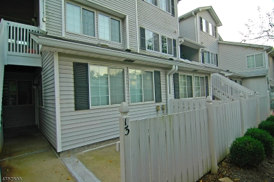 Bedminster Twp. Condo/Townhouse For Sale: 13 Kensington Rd