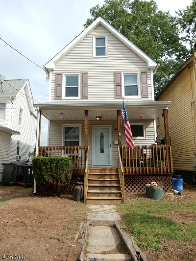 North Plainfield Boro NJ Single Family Home For Sale: $119,000