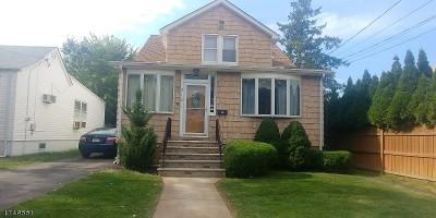 Linden City NJ Single Family Home For Sale: $299,900