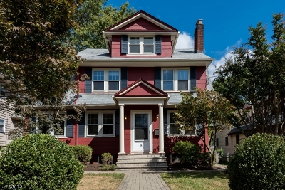 Maplewood Twp. Single Family Home For Sale: 143 Oakview Ave