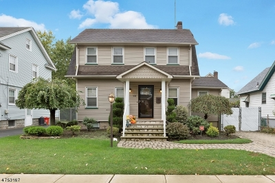 ROSELLE PARK Single Family Home For Sale: 18 W Colfax Ave