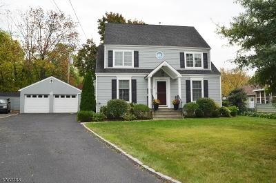 Madison Boro Single Family Home For Sale: 61 Wayne Blvd