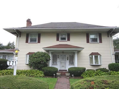 Paterson City Single Family Home For Sale: 771 Broadway