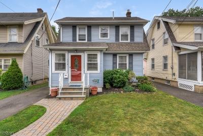 ROSELLE PARK Single Family Home For Sale: 116 W Grant Ave