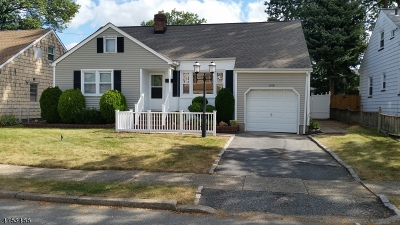 Union Twp. Single Family Home For Sale: 549 Homer Ter