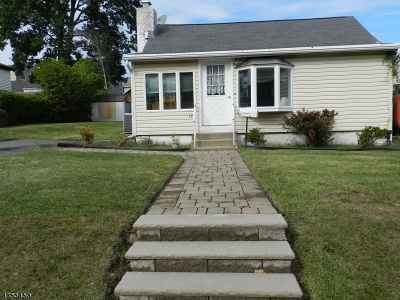 Parsippany Single Family Home For Sale: 126 Hiawatha Blvd