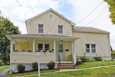 Boonton Town Multi Family Home For Sale: 408 Pine St