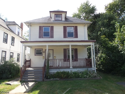 Plainfield City NJ Multi Family Home Under Contract: $110,000