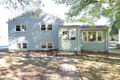 West Orange Twp. Single Family Home For Sale: 1280 Pleasant Valley Way