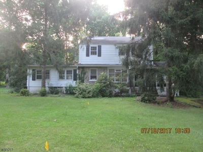 Scotch Plains Twp. Single Family Home For Sale: 1561 Cooper Rd