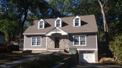 Parsippany-Troy Hills Twp. Single Family Home For Sale: 126 Fox Hill Rd
