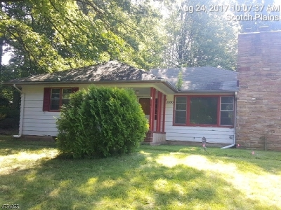 Scotch Plains Twp. Single Family Home For Sale: 2090 W Broad St