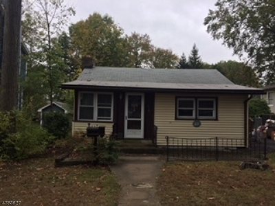 Parsippany Single Family Home For Sale: 118 Minnehaha Blvd