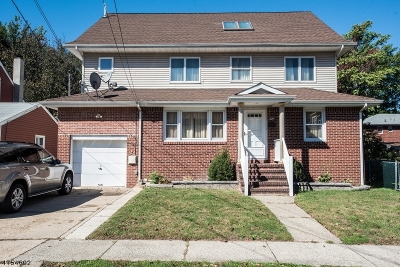 Nutley Twp. Single Family Home For Sale: 47 Ernest St