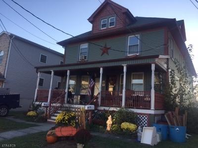 Roselle Park Boro Multi Family Home For Sale: 212 Filbert St