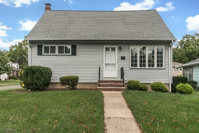 Cranford Twp. Single Family Home For Sale: 31 Clark Street