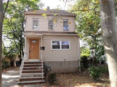 Rahway City NJ Multi Family Home For Sale: $145,000