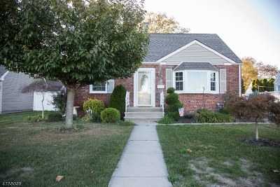 Kenilworth Boro Single Family Home For Sale: 108 N 14th St