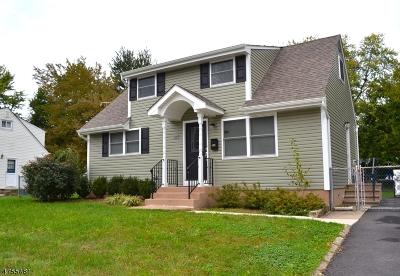 Woodbridge Twp. Single Family Home For Sale: 143 S Inman Ave