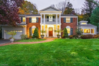 Millburn Twp. Single Family Home For Sale: 24 Martindale Rd