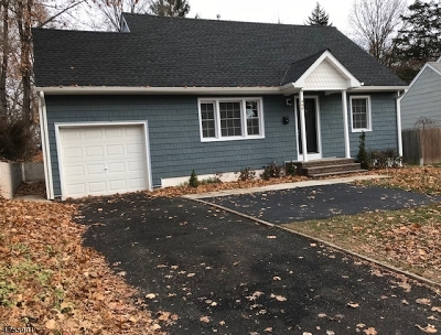 Fanwood Boro Single Family Home For Sale: 469 Terrill Rd