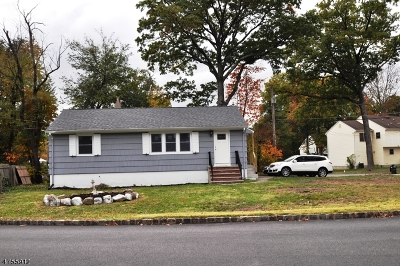 Parsippany-Troy Hills Twp. Single Family Home For Sale: 595 Lake Shore Dr