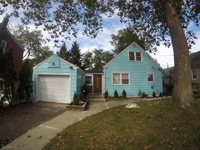 Elizabeth City Single Family Home For Sale: 805-807 Parkview Ter