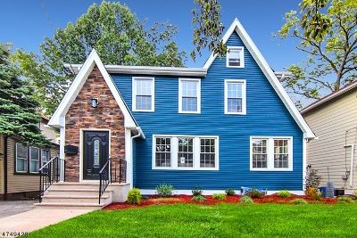 Maplewood Twp. Single Family Home For Sale: 21 Manley Ter