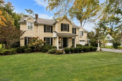 Madison Boro Single Family Home For Sale: 29 Woodland Rd
