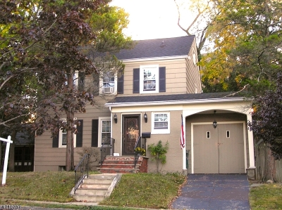 Maplewood Twp. Single Family Home For Sale: 12 Overlook Ter