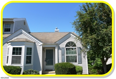 Bedminster Twp. Condo/Townhouse For Sale: 251 Long Meadow Road