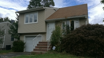 Parsippany-Troy Hills Twp. Single Family Home For Sale: 246 Atlantic Dr