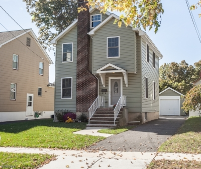 Cranford Twp. Single Family Home For Sale: 5 Besler Ave