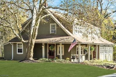 Bernards Twp. Single Family Home For Sale: 126 Whitenack Rd