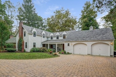 Bernards Twp. Single Family Home For Sale: 27 Sunnybrook Rd
