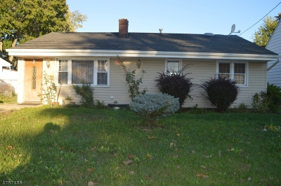 Edison Twp. Single Family Home For Sale: 89 Silver Lake Ave